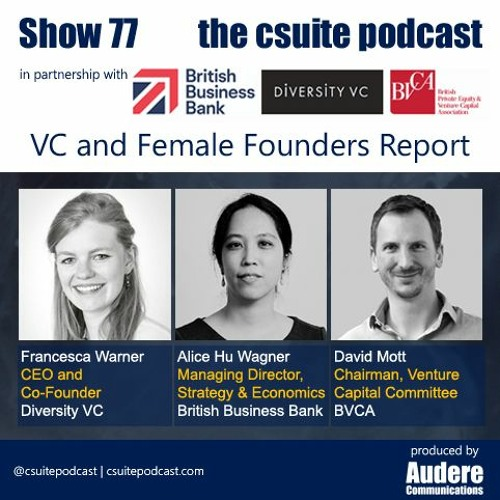 Show 77 - VC and Female Founders Report