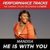 He Is With You (Performance Track In Key Of F Without Background Vocals; Low Instrumental)