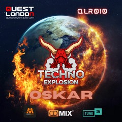 Techno Explosion Exclusive 010 Guest Mix Oskar (bit.ly3eErF67) - 24.07.2021