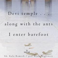 I Enter Barefoot [NaviarHaiku356]