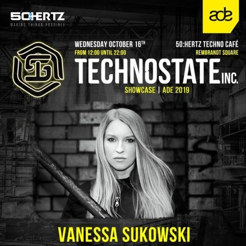 Vanessa Sukowski @ Amsterdam Dance Event (Technostate Showcase)