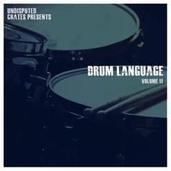 Drum Language 11 Audio Preview