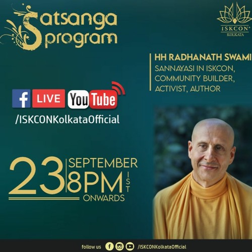HH Radhanath Swami Maharaja's address to Devotees of ISKCON Kolkata and Connected Centers