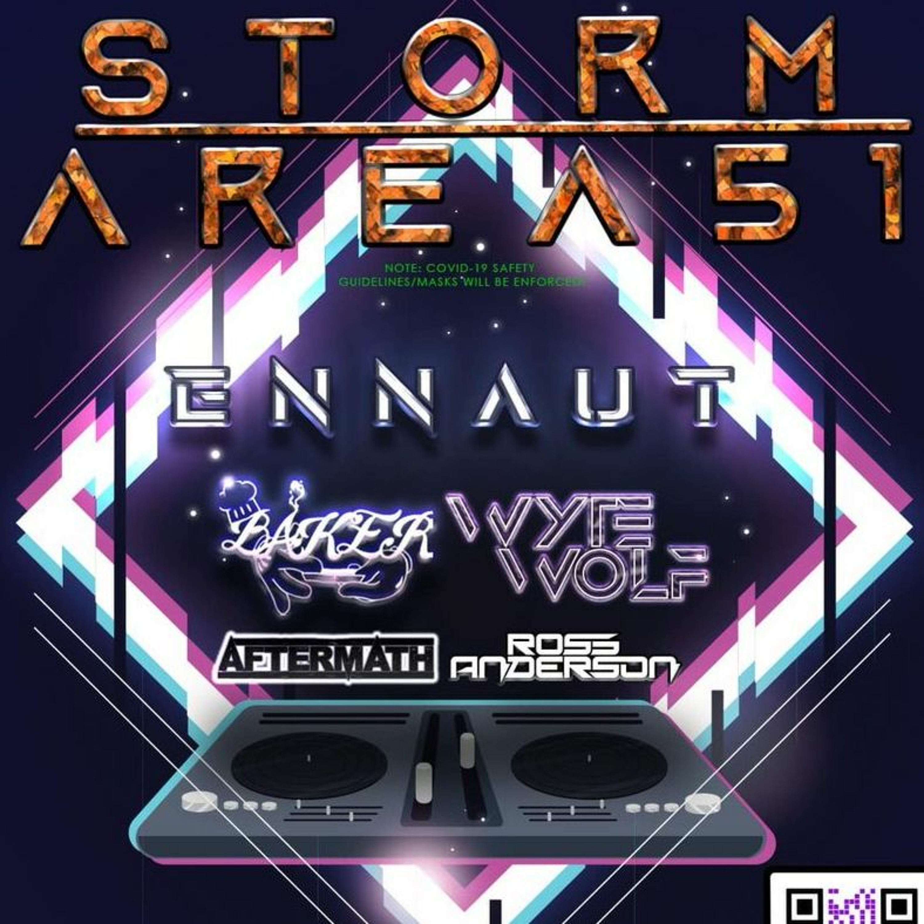 Storm Area 51 Demo Mix - Techno, Trance & Hardstyle