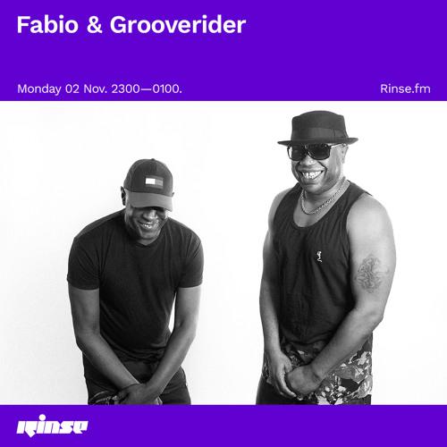 Fabio & Grooverider - Rinse FM (02-11-2020)