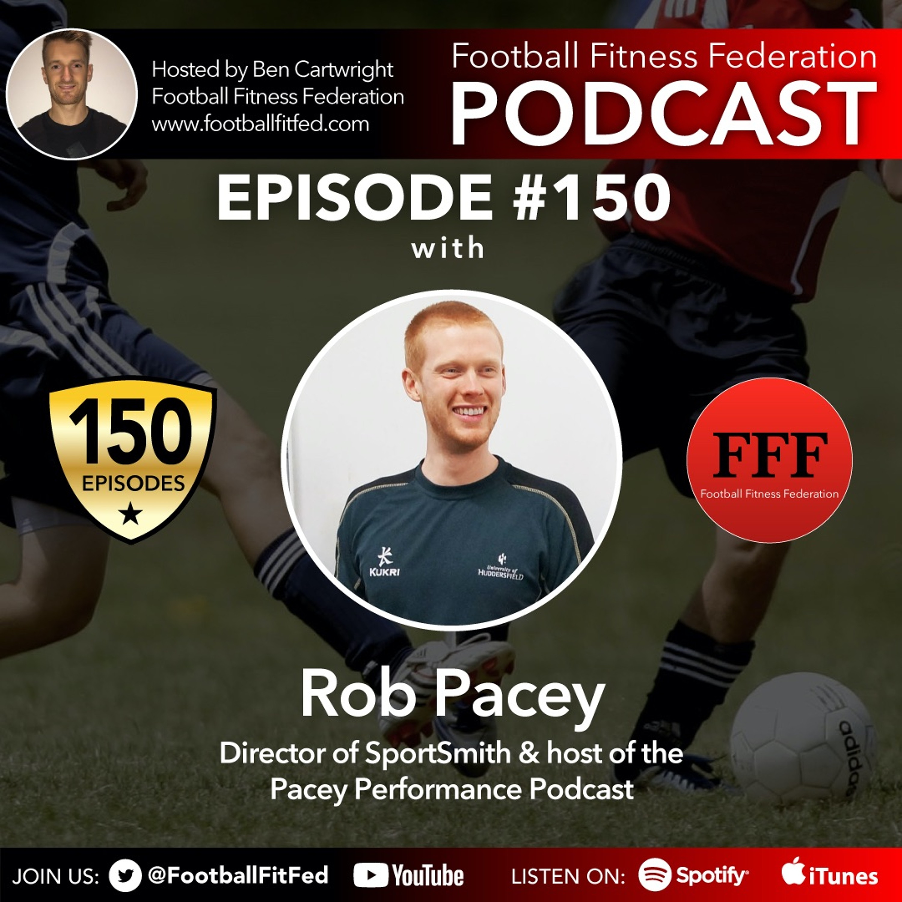 """#150 """"Football Performance Staff Survey Review"""" With Rob Pacey"""