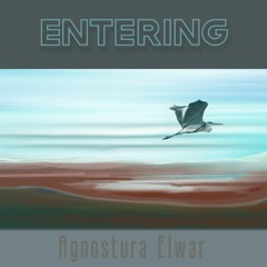 Entering[with poem by Enid Dame]