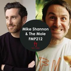 Fasten Musique Podcast 212   Mike Shannon & The Mole