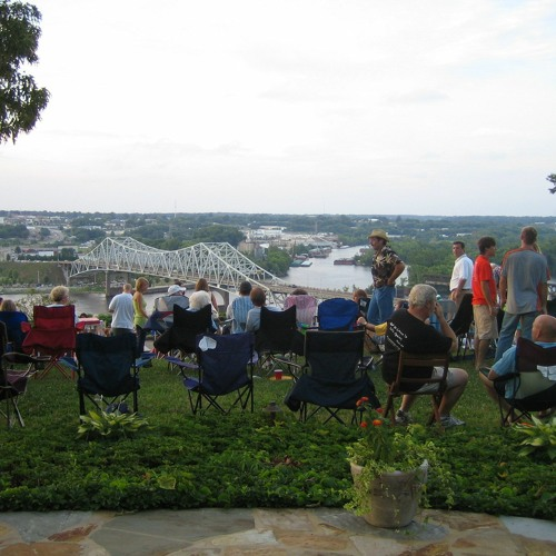 Overlooking Florence, AL on the 4th of July (2006)