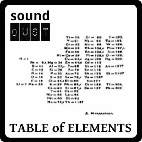 Aqua Regia TABLE Of ELEMENTS Demo TORLEY