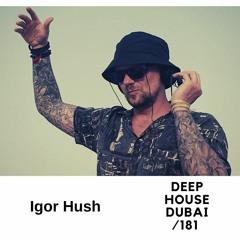 Igor Hush - DHD podcast 181 (July 2021)