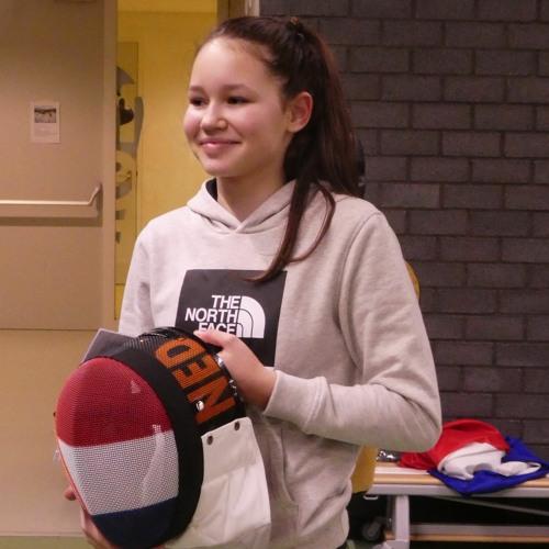 Schermster Ava Emanuel is het talent van maart! - ALLsportsradio LIVE! 15 maart 2021
