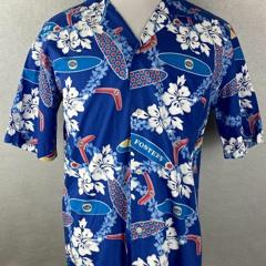 Fosters lager Hawaiian Shirt, Beach shorts