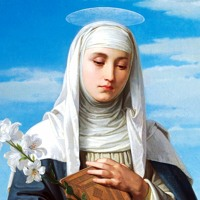 Catherine of Siena and the purity of the soul that does not judge.