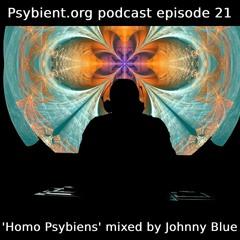 psybient.org podcast ep21 - Johnny Blue - Homo Psybiens
