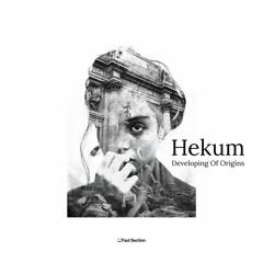 """Premiere: Hekum """"Unstable Mentality"""" - Faut Section"""