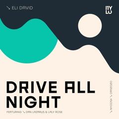 Eli David - Drive All Night EP   NYLO NY005X