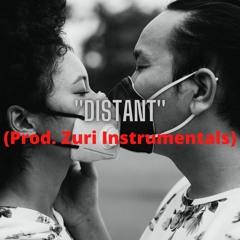 ROMANTIC MELODIC RAP BEAT WITH VOCALS ''DISTANT''