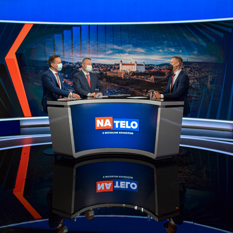 Erik Tomáš (Hlas-SD) a Milan Krajniak (Sme rodina)
