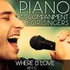 Where Is Love (Piano Accompaniment of Oliver - Key: C) [Karaoke Backing Track]