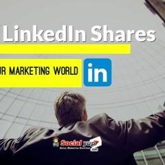 Buy LinkedIn Shares For Desired Success