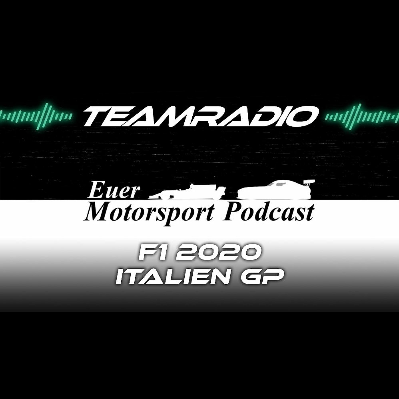 F1 2020 Italien GP Review | Gasly aus dem Nichts zum Sieg! | TeamRadio Podcast