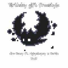 Birthday Gift Freestyle - Jiro Coney ft. Rigbysiuquay x Corbin