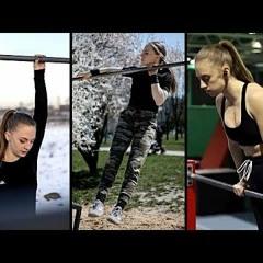Elite Female Calisthenics Athlete  Noa Man WORKOUT