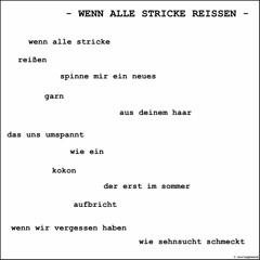 WENN ALLE STRICKE REISSEN - Andreas Koellner