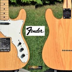 Fender 1969 Thinline Tele Maple Natural 267913 Ch1