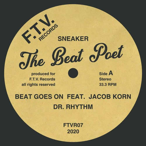 Sneaker - The Beat Poet EP - FTVR07 - VINYL ONLY (snippets)