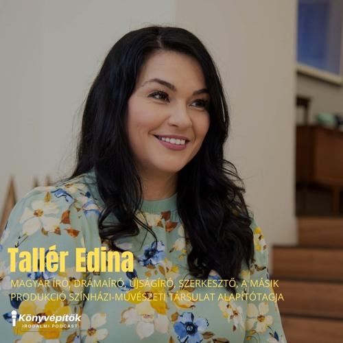 Tallér Edina, író