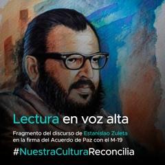 Lectura en voz alta - Yefferson Ospina lee a Estanislao Zuleta