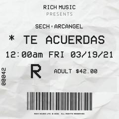 Sech Ft Arcangel - Te Acuerdas (Intro Extended) [Jorge Beats] FREE DOWNLOAD🔥!
