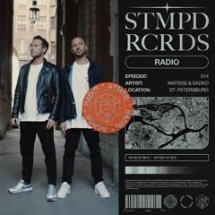 STMPD RCRDS Radio 014 - Matisse & Sadko