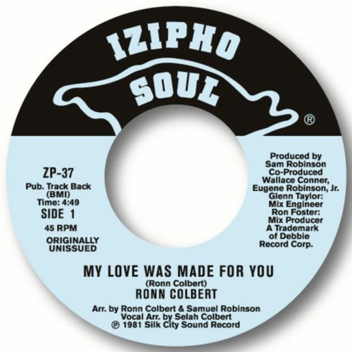 RONN COLBERT - MY LOVE WAS MADE FOR YOU
