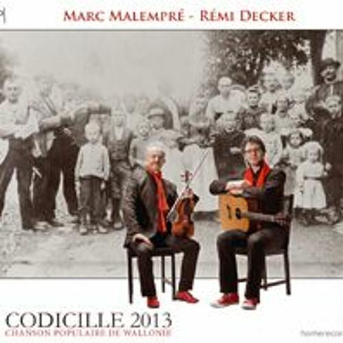 """DECKER-MALEMPRE """" Codicille 2013"""""""