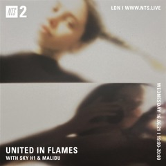 UNITED IN FLAMES W/ SKY H1 & MALIBU 160621