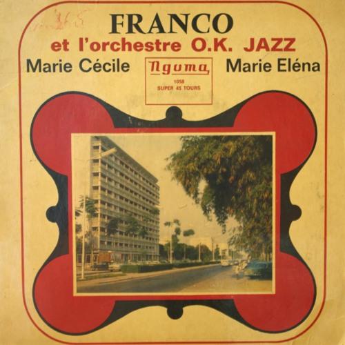 "Franco & l'OK Jazz  ""Marie Eléna"" 45T Ngoma face B"