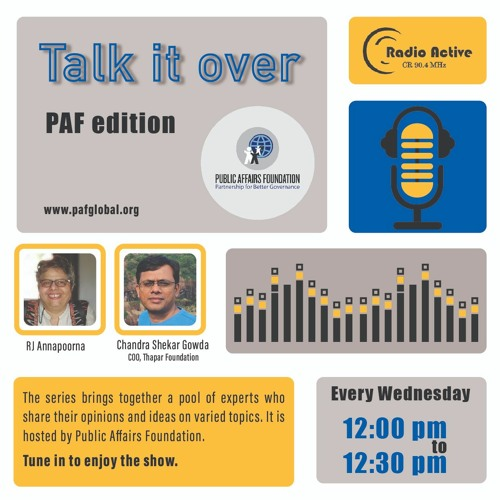 Talk It Over Ep 18 With Chandra Shekar Gowda By Dr.Annapoorna Ravichander