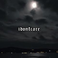 "[FREE] Bones x Night Lovell Type Beat ""IDontCare"" | Hard Dark Trap Instrumental 2021"