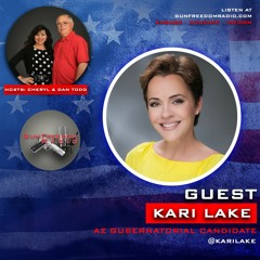 GunFreedomRadio EP340 The AZ Governor's Race with Kari Lake