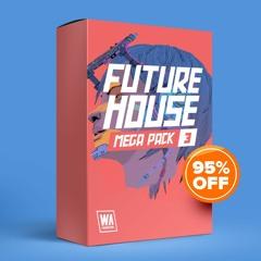 95% OFF - Future House Mega Pack 3 (1000+ Drums, Kits, Presets & More)