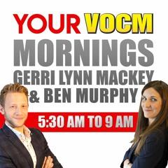 VOCM Legislative Reporter Brian Callahan Update on Current Business in HOA