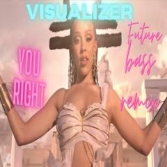 Doja Cat, The Weeknd - You Right (Visualizer  Future Bass Remix)
