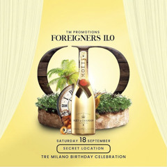 FOREIGNERS 2.0 - PROMO CD MIXED BY MR. OFFICIAL