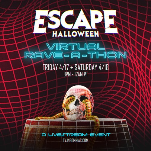 Where Is Escape Halloween 2020 Escape Halloween Virtual Rave A Thon 2020 by DerekD2☀️ on