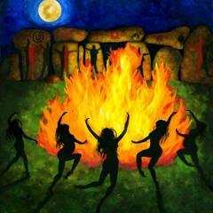 Am Feuer Unserer Ahnen - Carl & Tribe (NeumondTipiKirtan Draußenzeit, Hembergen)