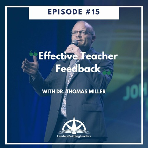 Effective Teacher Feedback