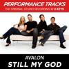 Still My God (Key-Bb-Premiere Performance Plus w/o Background Vocals; Low Instrumental)